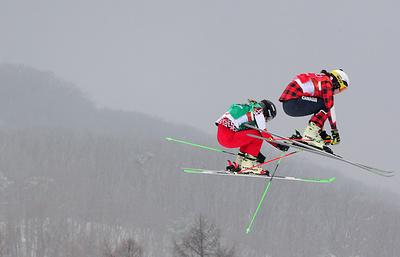 Фристайлистка Чирцова из-за падения не вышла в 1/2 финала Олимпиады в ски-кроссе