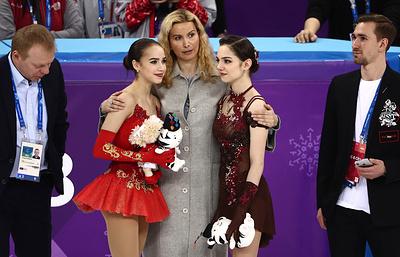 На хрупких женских плечах: олимпийский триумф фигуристок Загитовой и Медведевой