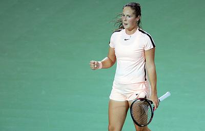 Российская теннисистка Касаткина обыграла Мугурусу и вышла в финал турнира в Дубае