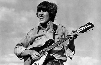 Скромнейший из великой четверки: гитарист Beatles и пионер рок-н-ролла Джордж Харрисон