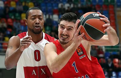 ЦСКА сыграет с испанской «Уникахой» в матче баскетбольной Евролиги