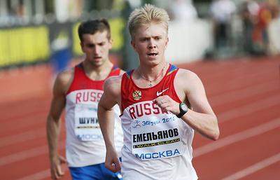 Российский легкоатлет Емельянов пожизненно дисквалифицирован из-за допинга