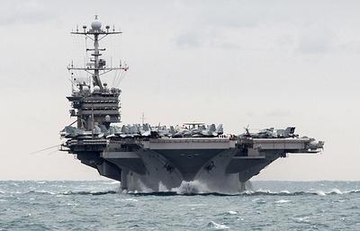 ВМС США: авианосец Harry Truman приступил к выполнению задач в Средиземном море
