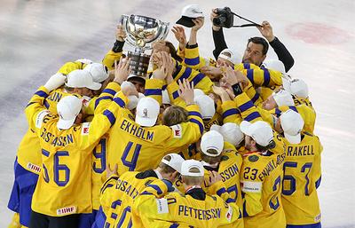 Сборная Швеции защитила титул чемпиона мира по хоккею, россияне остались без медалей