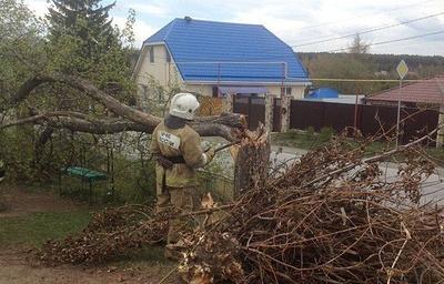 Десятки человек пострадали и тысячи остались без света из-за урагана в регионах России