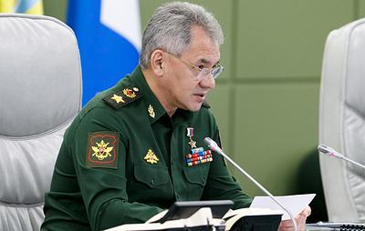 Шойгу обсудит в Узбекистане вопросы международной и региональной безопасности