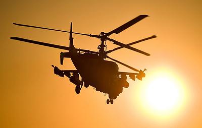 Два экипажа российских вертолетов вернулись в Россию после выполнения задач в Сирии