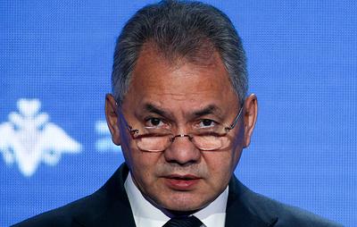 Шойгу: напряжение в отношениях России и США нагнетают американские элиты