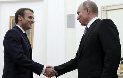 Путин рассчитывает, что Россия и Франция восстановят инструменты сотрудничества
