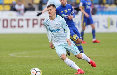 """Футболист """"Зенита"""" Полоз прибыл в расположение """"Рубина"""" и тренируется с казанской командой"""