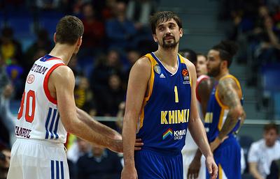 """СМИ: Баскетболист Швед принял решение остаться в подмосковных """"Химках"""""""
