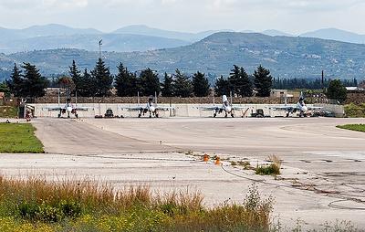 Военные РФ сбили беспилотник боевиков рядом с авиабазой Хмеймим в Сирии