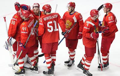 Сборная России по хоккею начнет ЧМ-2019 матчем с норвежцами в Братиславе