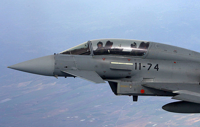 Авиация ВВС Эстонии ведет поиски места падения случайно выпущенной ракеты