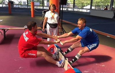 Российские национальные виды спорта вызвали большой интерес на соревнованиях в Нидерландах