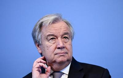Генсек ООН назвал Конвенцию о статусе Каспия бесценным и историческим документом