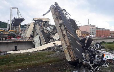 Эрдоган выразил соболезнования в связи с обрушением моста в Италии
