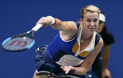 Павлюченкова проиграла Кербер в матче второго круга теннисного турнира в Цинциннати
