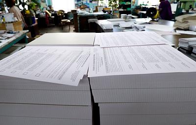 Более 1,5 млн бюллетеней напечатают к выборам депутатов в гордуму Екатеринбурга