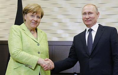 Глава социал-демократов Германии ожидает от Путина и Меркель инициатив по усилению ВТО