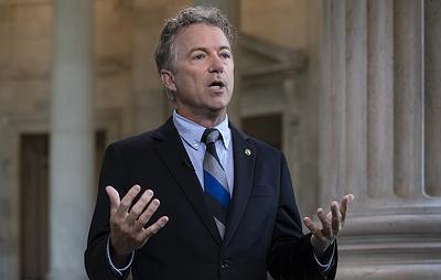 Сенатор Рэнд Пол: расследование по России в США приобрело крайне политизированный уклон