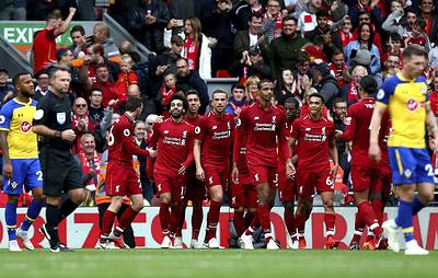 """""""Ливерпуль"""" одержал шестую победу подряд со старта сезона Английской премьер-лиги"""