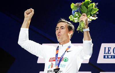 Шубенков претендует на звание лучшего легкоатлета Европы 2018 года