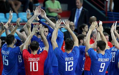 Российские волейболисты обыграли итальянцев в матче второго раунда чемпионата мира