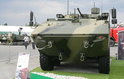 """Боевую машину пехоты """"Бумеранг"""" могут вооружить модулем """"Кинжал"""""""