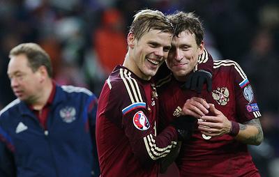 РФС: Кокорин и Мамаев на данный момент не имеют отношения к сборной России