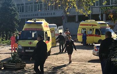 Десять человек погибли при взрыве в колледже в Крыму