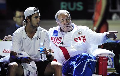 Тарпищев: российский теннисист Хачанов уже составляет конкуренцию Надалю
