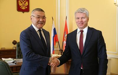 Колобков провел рабочую встречу с главой Калмыкии