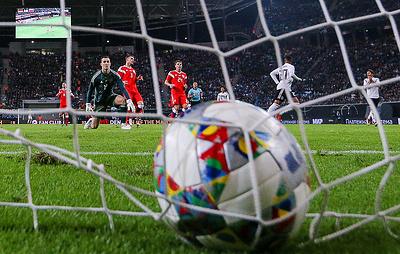 Сборная России по футболу в Лейпциге продлила серию без побед в матчах с командой Германии