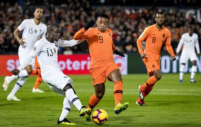 Сборная Германии вылетела в лигу B Лиги наций после победы голландцев над французами