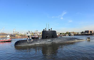 ВМС Аргентины сообщили об обнаружении затонувшей подлодки San Juan