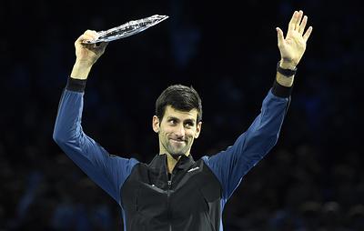 Сербский теннисист Джокович считает, что провел феноменальный сезон