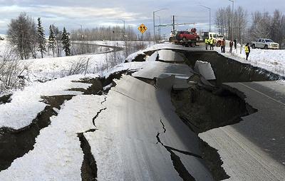 Трамп распорядился оказать федеральную помощь Аляске из-за землетрясения