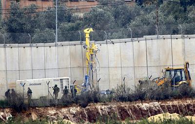 """Армия Израиля сообщила об обнаружении первого тоннеля """"Хезболлах"""" на границе с Ливаном"""