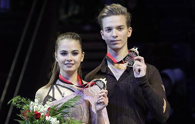 Фигуристы Шевченко и Еременко в восторге от победы в финале юниорского Гран-при в Канаде