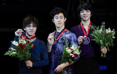 Американец Чен выиграл финал Гран-при по фигурному катанию