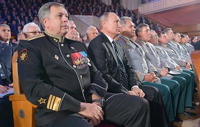 Источник: начальником ГРУ назначен вице-адмирал Игорь Костюков