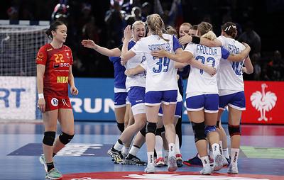 Сидорова: российские гандболистки очень мотивированы на победу в финале чемпионата Европы