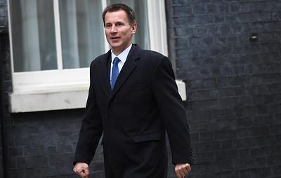 Глава МИД Британии верит в светлое будущее королевства даже в случае Brexit без сделки