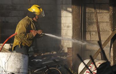 Пожар на месте взрыва трубопровода в Мексике потушен
