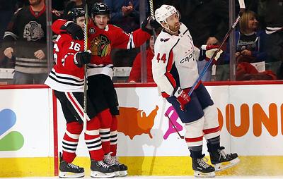 """""""Вашингтон"""" потерпел пятое поражение подряд в НХЛ, уступив в гостях """"Чикаго"""""""