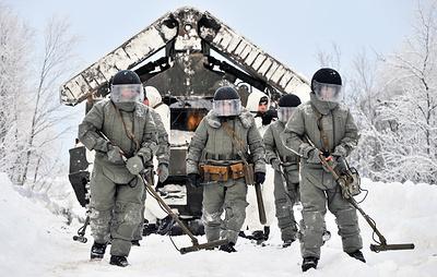 Около 500 саперов провели учения по поиску подземных командных пунктов под Ростовом