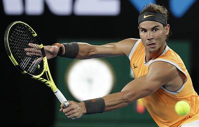 Рафаэль Надаль вышел в финал Australian Open