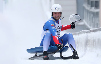 Саночник Павличенко занял третье место на чемпионате мира photo