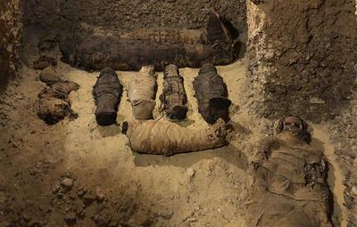 В Египте обнаружен некрополь эллинистического периода с десятками мумий